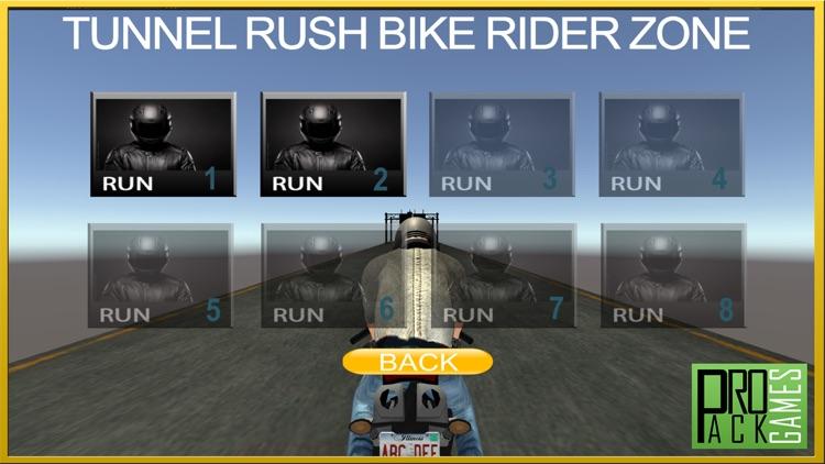 Tunnel Rush Motor Bike Rider Wrong Way Dander Zone screenshot-4