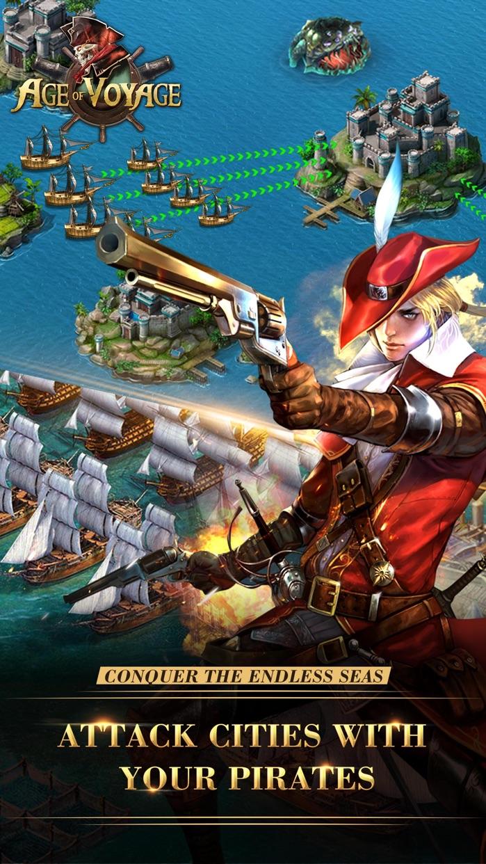 Age of Voyage - multiplayer online naval battle Screenshot