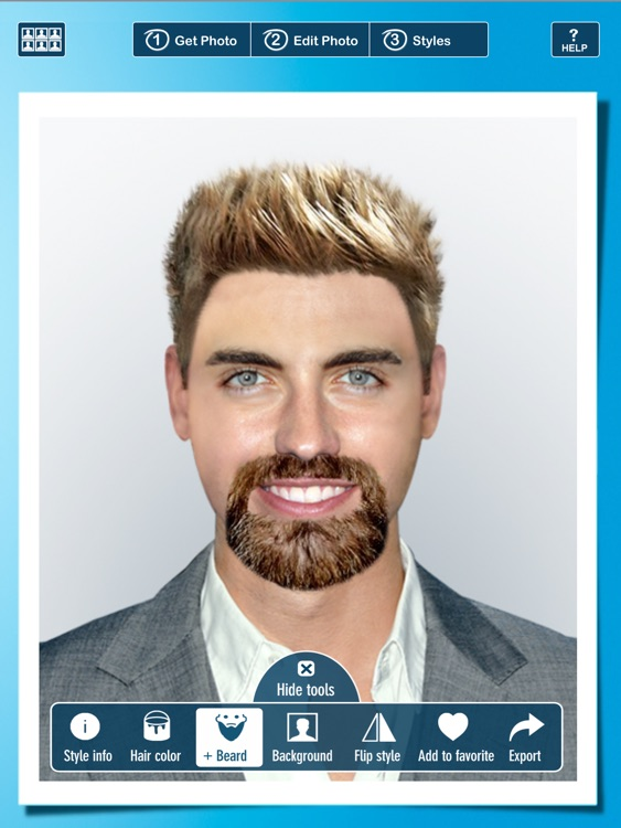 Hairstyle PRO Try On - Hair Styles: Men and Women screenshot-3