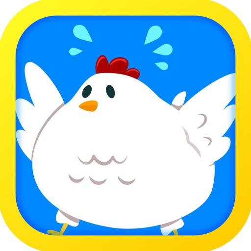 Tiny Chicken: Bouncy Egg Dash