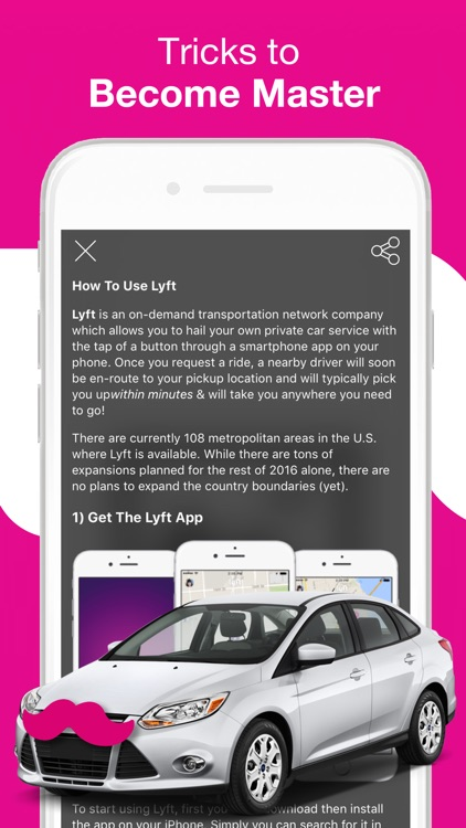 Driver for Lyft Taxi (Lift Taxi) Guide