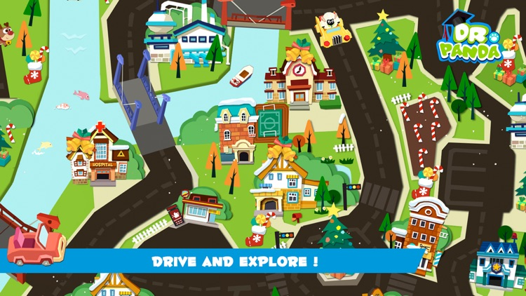 Dr. Panda Toy Cars Free screenshot-1