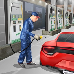 Gas Station Car Mechanic Simulator Game