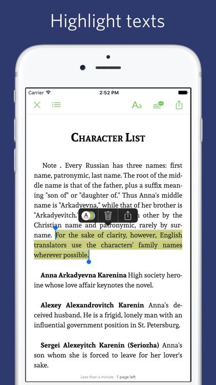 Anna Karenina - notes, sync transcript screenshot-3