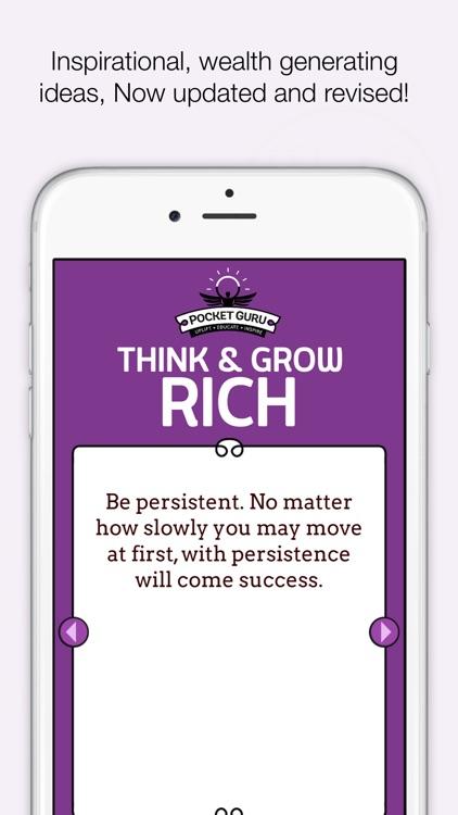 Think and Grow Rich - Napoleon Hill - Pocket Guru