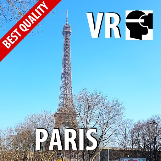 VR Paris High Up On Eiffel Tower Virtual Reality