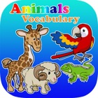 Дети Словарь Animals Puzzle Learn icon