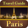 Paris Offline Map Travel Explorer Icon