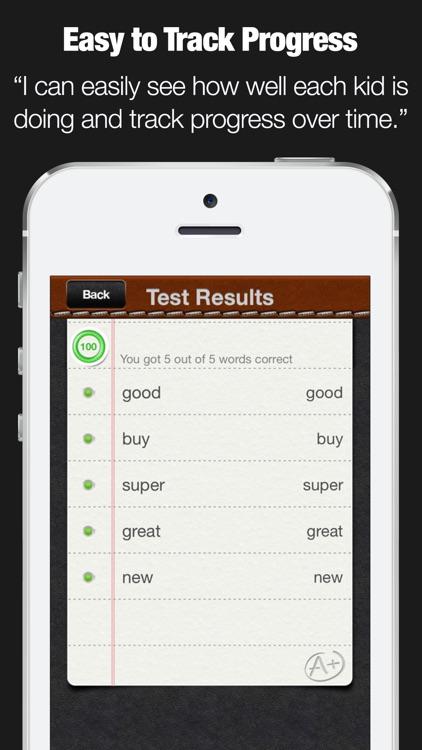 A+ Spelling Test PRO screenshot-3