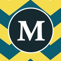 Monogram Designs | Best Chevron Wallpaper