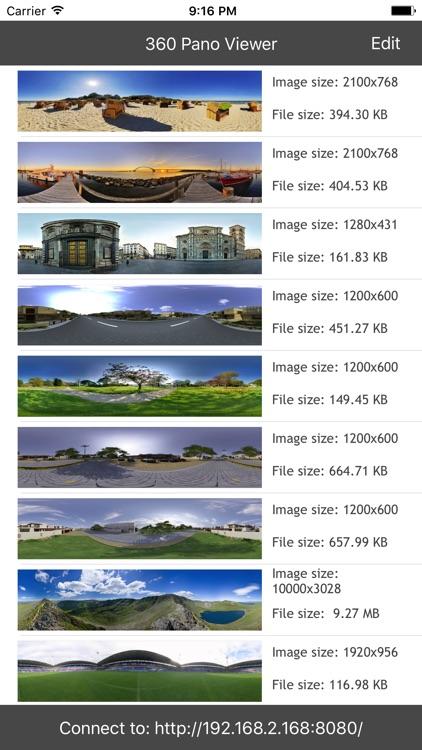 360 Pano Panorama photo viewer by Haw-Yuan Yang