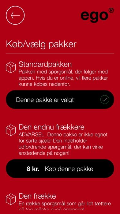 Screenshot for EGO in Denmark App Store
