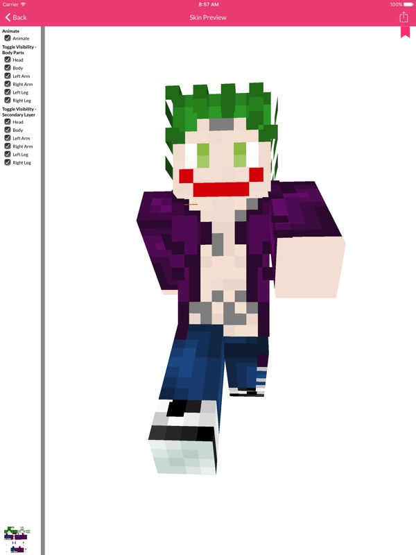 Ss Skin For Minecraft Edition Online Game Hack And Cheat