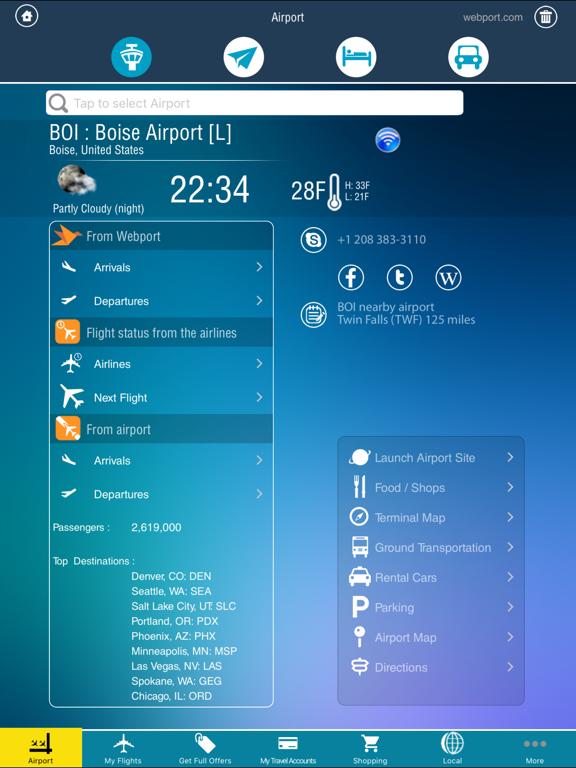 Airport Pro (All Airports) Flight Tracker + Airlines Flights screenshot