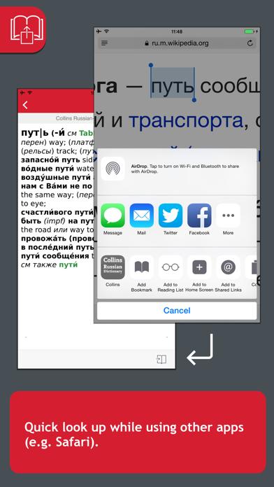 Collins Russian Dictionaryのおすすめ画像4