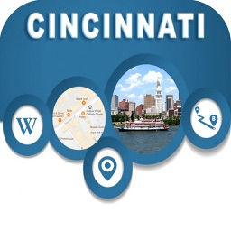 Cincinnati OH USA City OfflineMap Navigation Guide