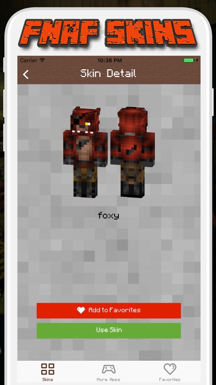 FNAF Skins for Minecraft PE - Pocket Edition screenshot-3