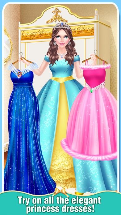Royal Family Winter Salon - Snow Princess Makeover screenshot four