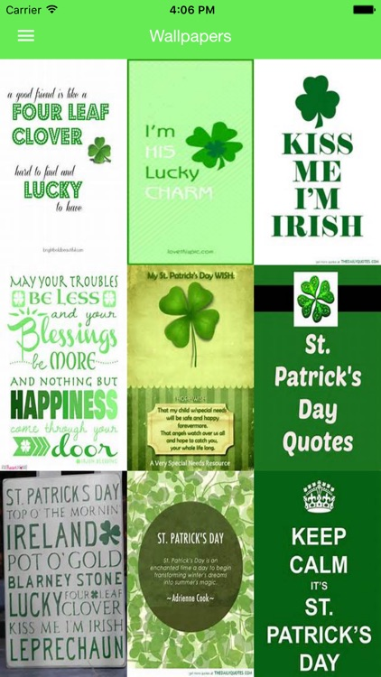 St. Patrick's Day Quotes - Motivational Quotes screenshot-0