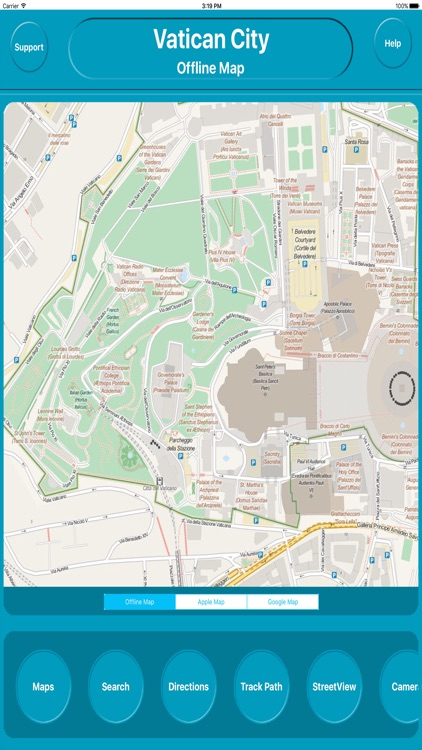 Vatican City - Offline City Maps Navigation