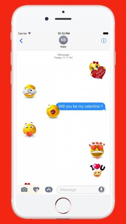 Flirty Sticker for iMessage