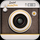 Social InstaCam - Photo editor with the Best Filters & Collage for Share with the World icon
