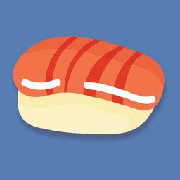 Sushi Oriental Pieces Stickers
