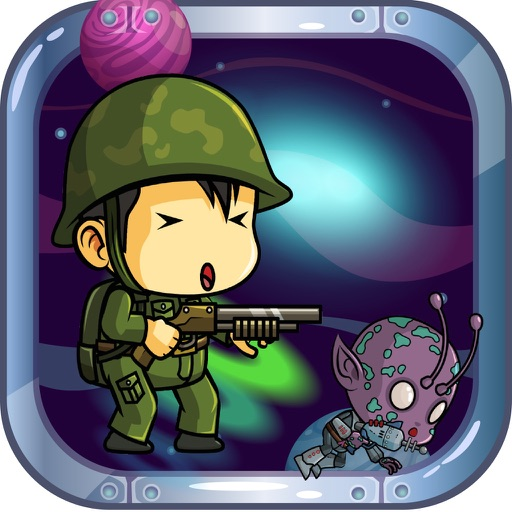 Super Soldier Shooting vs Aliens