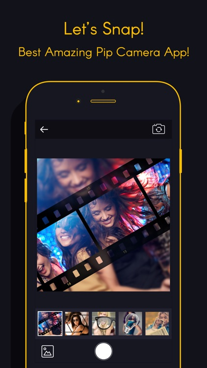 Camera- pip selfie cam & college photo editor
