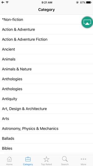 Audio Book from Librivox Screenshot