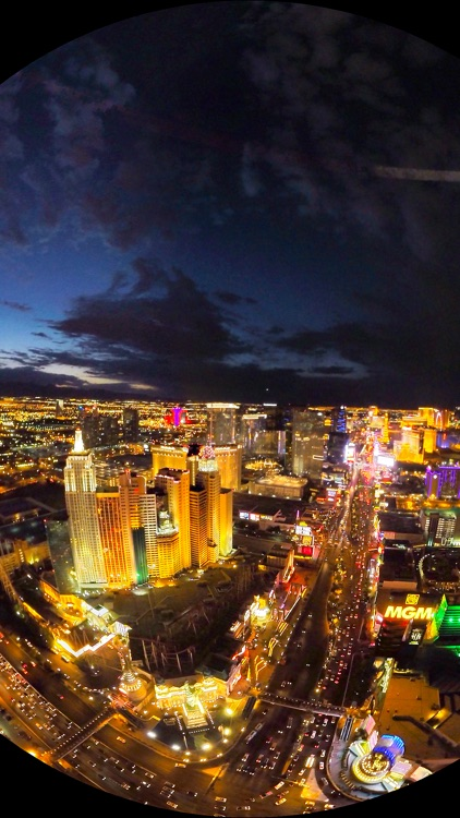 VR Las Vegas Strip Helicopter Virtual Reality 360