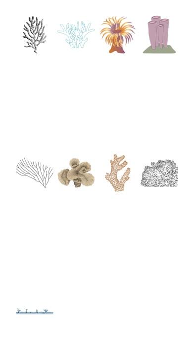 Korallen-StickerpackScreenshot von 1