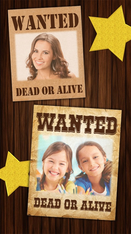 Wanted Poster Maker - Western Style Photo Editor