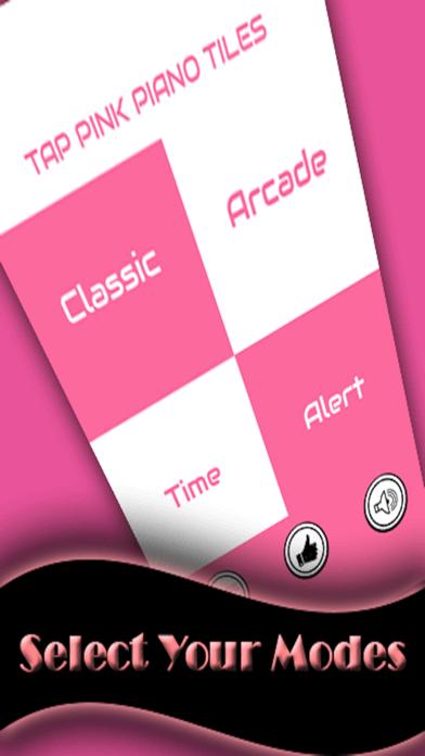 Pink Piano Tap - white music Tile screenshot one