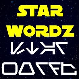 AUREBESH War Words in the Stars by Star Wordz