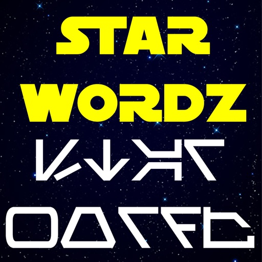 AUREBESH War Words in the Stars by Star Wordz