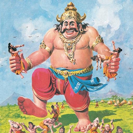 Kumbhakarna - Ravana's brother - Amar Chitra Katha