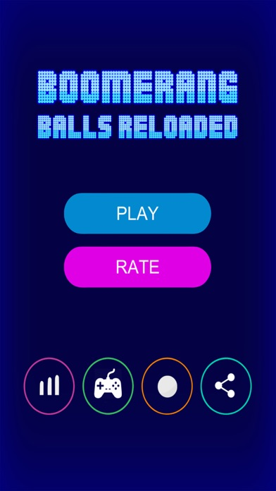 Image of Boomerang Balls Reloaded for iPhone