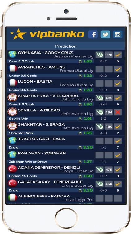 VIPBANKO -  Pronósticos screenshot-3