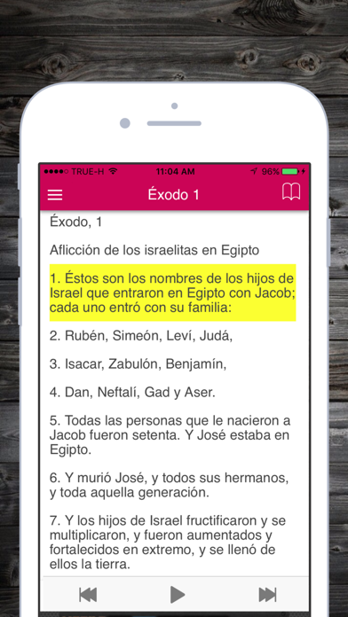 Screenshot for Santa Biblia Reina Valera 1960 Gratis en Español in United States App Store