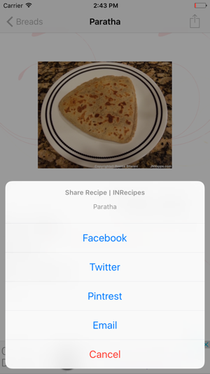 Indian vegetarian recipes inrecipes on the app store forumfinder Images