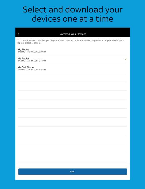 AT&T Locker™ for iPad screenshot-4