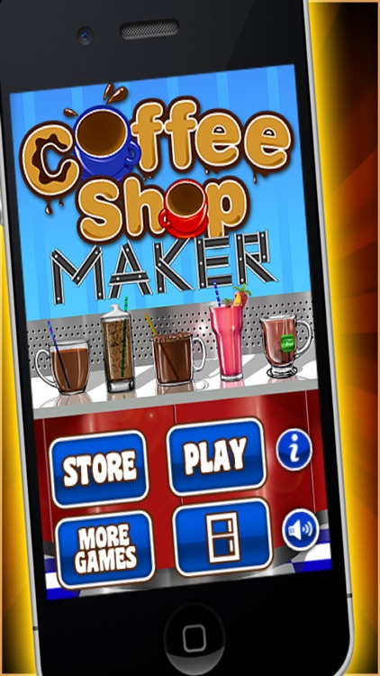 Coffee Shop Maker - Make Hot Chocolate & Sweets