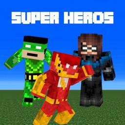 SuperHero Skins For The Minecraft Pocket Edition