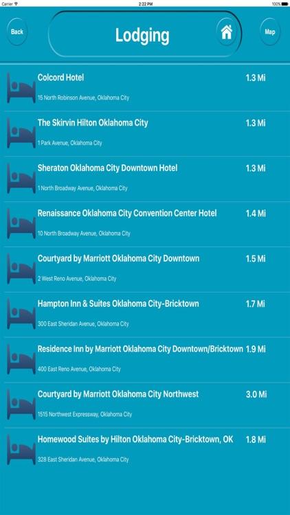 Oklahoma City Ok Offline City Maps with Navigation screenshot-3