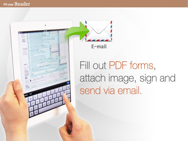ezPDF Reader: Interactive PDF Reader for iPad screenshot-3