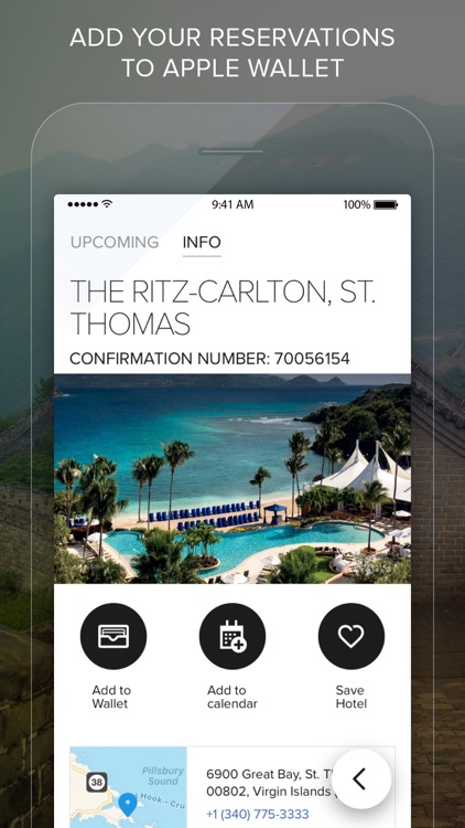 The Ritz-Carlton Hotels screenshot-3