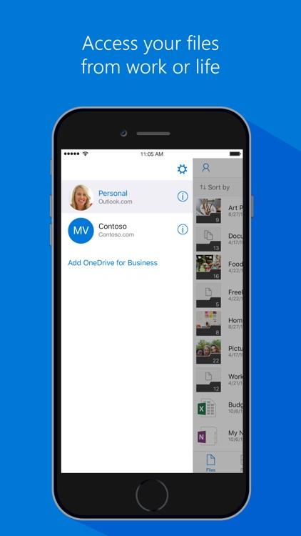 Microsoft OneDrive – File & photo cloud storage app image