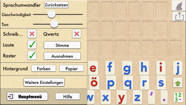 German Word Wizard - Talking Alphabet + Spelling screenshot-3