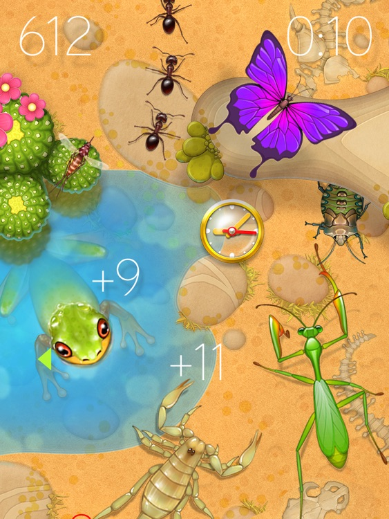 Forest Bugs - Tap Smash Game for Kids and Adults